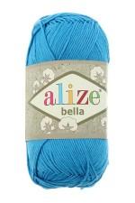 Пряжа для вязания Alize Bella (Ализе Белла) Цвет 387 темная бирюза