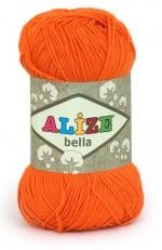Пряжа для вязания Alize Bella (Ализе Белла) Цвет 487 оранжевый