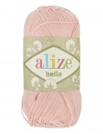 Пряжа для вязания Alize Bella (Ализе Белла) Цвет 613 пудра