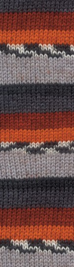 Пряжа для вязания Alize Burcum Cizgi (Ализе Буркум Чизги) Цвет 4327