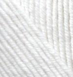 Пряжа для вязания Alize Cashmira (Ализе Кашмира) Цвет 55 белый