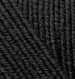 Пряжа для вязания Alize Cashmira (Ализе Кашмира) Цвет 60 черный