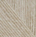 Пряжа для вязания Alize Cashmira (Ализе Кашмира) Цвет 152 бежевый