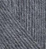 Пряжа для вязания Alize Cashmira (Ализе Кашмира) Цвет 182 темно серый