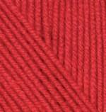 Пряжа для вязания Alize Cashmira (Ализе Кашмира) Цвет 56 красный