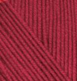 Пряжа для вязания Alize Cashmira (Ализе Кашмира) Цвет 327 темно красный