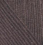 Пряжа для вязания Alize Cashmira (Ализе Кашмира) Цвет 92 темно коричневый