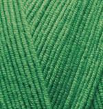 Alize Cotton Gold Цвет 126 зеленая трава