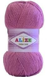 Пряжа для вязания Alize Cotton Gold (Ализе Коттон Голд) Цвет 98 розовый