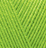 Пряжа для вязания Alize Diva (Ализе Дива) Цвет 117 фисташка