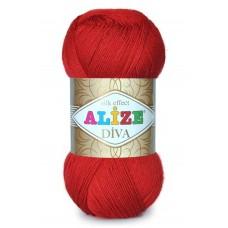 Пряжа для вязания Alize Diva (Ализе Дива)