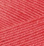 Пряжа для вязания Alize Diva Stretch (Ализе Дива Стрейч) Цвет 661 темный коралл