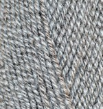 Alize Lanagold Цвет 651 серый меланж