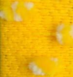 Пряжа для вязания Alize Ponponella (Ализе Помпонелла) Цвет 5110 желтый белый