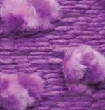 Пряжа для вязания Alize Ponponella (Ализе Помпонелла) Цвет 5168 фиолетовый