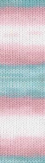 Пряжа для вязания Alize Sekerim Bebe Batik (Ализе Шекерим Беби Батик) Цвет 2604