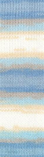 Пряжа для вязания Alize Sekerim Bebe Batik (Ализе Шекерим Беби Батик) Цвет 4398