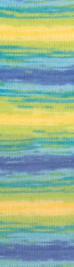 Пряжа для вязания Alize Sekerim Bebe Batik (Ализе Шекерим Беби Батик) Цвет 4789