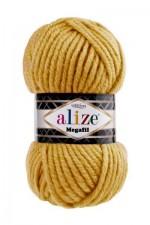 Пряжа для вязания Alize Superlana Megafil (Ализе Суперлана Мегафил) Цвет 488 темно желтый
