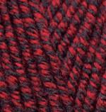 Alize Superlana Maxi Цвет 603 черный красный