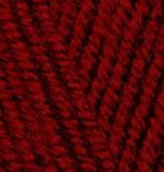 Alize Superlana Maxi Цвет 538 темно красный