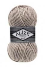 Пряжа для вязания Alize Superlana Maxi (Ализе Суперлана Макси) Цвет 152 бежевый