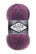 Пряжа для вязания Alize Superlana Maxi (Ализе Суперлана Макси) Цвет 28 сухая роза