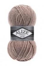 Пряжа для вязания Alize Superlana Maxi (Ализе Суперлана Макси) Цвет 541 норка