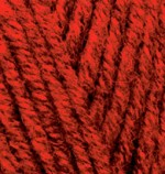 Alize Superlana Maxi Цвет 802 красный меланж