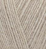 Пряжа для вязания Alize Superwash 100 (Ализе Супервош 100) Цвет 152 бежевый