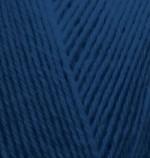 Пряжа для вязания Alize Superwash 100 (Ализе Супервош 100) Цвет 58 темно синий