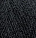 Пряжа для вязания Alize Superwash 100 (Ализе Супервош 100) Цвет 60 черный