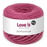 Пряжа для вязания Дом пряжи Трикотажная пряжа Love is New Цвет 18 ягодный танец