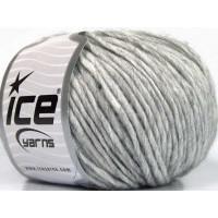 ICE fnt2-57001 Wool Cord Aran Grey Melange