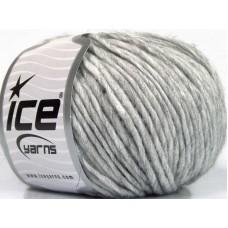 Пряжа для вязания ICE Wool Cord Aran Grey Melange (Вул Корд Аран)