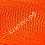Пряжа для вязания Камтекс Хлопок мерсеризованный Цвет 068 апельсин