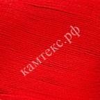 Пряжа для вязания Камтекс Хлопок мерсеризованный Цвет 046 красный