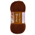 Kartopu Alpaca Sport Цвет 891 коричневый