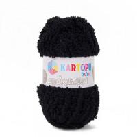 Пряжа для вязания Kartopu Anakuzusu (Картопу Анакузусу) Цвет 517 черный
