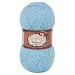 Kartopu Angora Firenze Цвет 540 светло голубой