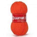 Kartopu Kristall Цвет К210 оранжевый