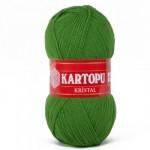 Kartopu Kristall Цвет К392 зеленый