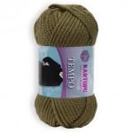 Пряжа для вязания Kartopu Tempo Цвет 395 болотный