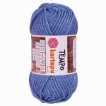 Пряжа для вязания Kartopu Tempo Цвет 644 голубой