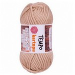Пряжа для вязания Kartopu Tempo Цвет 838 бежевый