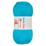 Kartopu Wooly Baby Цвет 515 бирюзовый