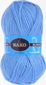 NAKO Alaska Цвет 7113 голубой