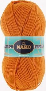 NAKO Atlantic Цвет 1256 тыквенный