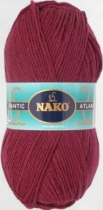 NAKO Atlantic Цвет 1259 вишневый