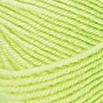 NAKO Baby Marvel Wool Цвет 3304 зеленый неон